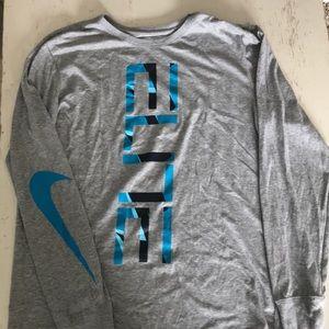 Men's Nike Elite Long-Sleeved shirt- Large